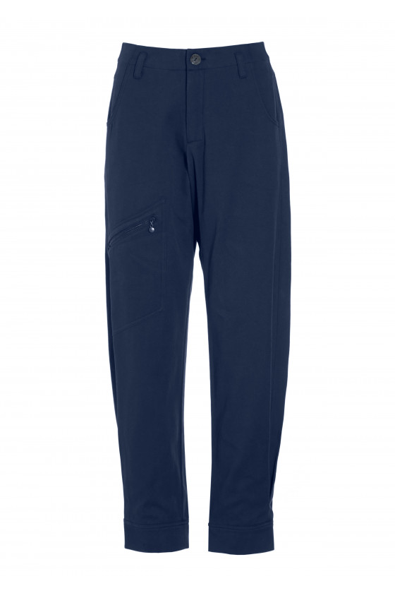 GARCON TWILL TROUSERS WITH POCKETS