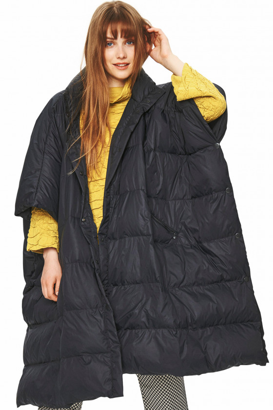FEATHER DOWN PONCHO